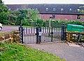 St. Leonard's Church - entrance gates to churchyard - geograph.org.uk - 1462378.jpg