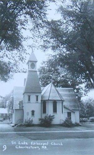 Charlestown, New Hampshire - Image: St. Luke's Church, Charlestown, NH