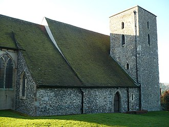 Harbledown - Image: St. Nicholas' church, Harbledown geograph.org.uk 1075924
