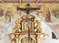 St. Simon und Judas Thaddäus (Holzgünz) - cross hanging from the ceiling.jpg