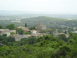 A general view of Le Triadou