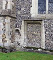 St Andrew, Buckland, Herts - Blocked doorway - geograph.org.uk - 368078.jpg