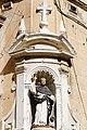 St Dominic street-corner statue Valletta.jpg