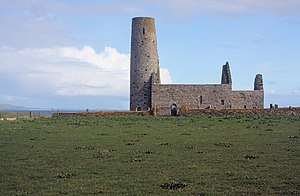 Magnus Erlendsson, Earl of Orkney - The ruins of St Magnus Church, on the island of Egilsay