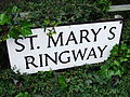 St Mary's Ringway sign, Kidderminster - DSCF0967.JPG