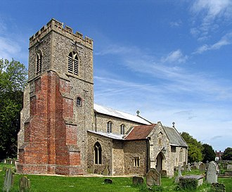 Burnham Market - Image: St Mary, Burnham Market, Norfolk geograph.org.uk 321235