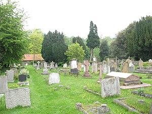 St Peter's Church, Petersham - The churchyard