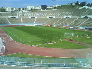 Algerian Cup - Stade 19 Mai 1956 host the final in 2002.