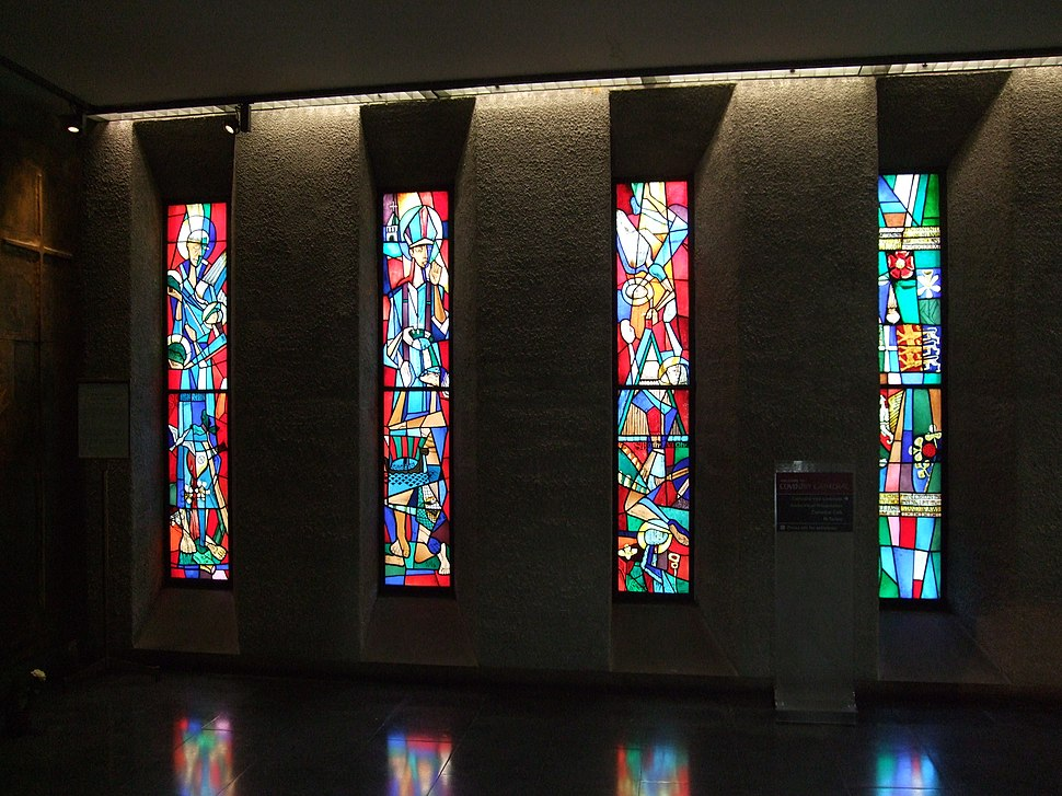 Stained Glass Windows - Coventry Cathedral