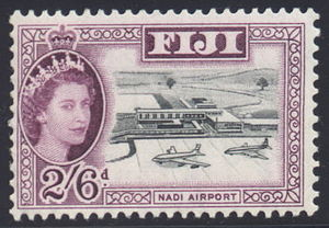 Monarchy of Fiji - Queen Elizabeth II on a Fijian stamp