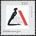 Stamp Germany 1996 Briefmarke Akademie der Künste.jpg