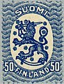 Stamp of Finland - 1920 - Colnect 45718 - Definitive series I-Lion type m-17.jpeg