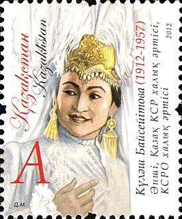 Kulyash Baiseitova Soviet-Kazakh singer