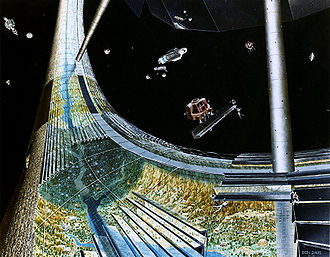 Stanford torus - Image: Stanford torus under construction