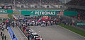 Starting grid of 2012 Malaysian GP.jpg