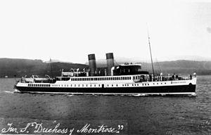 TS Duchess of Montrose - Image: State Lib Qld 1 149307 Duchess of Montrose (ship)