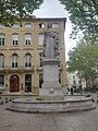 Statue du Roi René - Cours Mirabeau - Aix en Provence - P1360006-P1360012.jpg