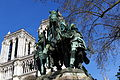 Statue of Carolus Magnus, Notre-Dame de Paris, 13 April 2015.jpg