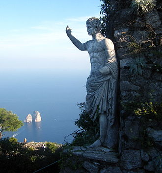 Monte Solaro - Statue of Emperor Augustus