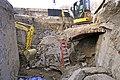 Statue of Liberty's Pedestal - Digging new exit 2.jpg