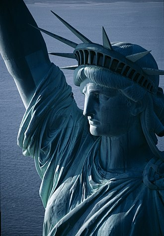 French Americans - The Statue of Liberty is a gift from the French people in memory of the American Declaration of Independence.