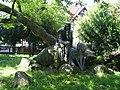 Statue of Walther von der Vogelweide in Duchcov3.JPG