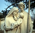 Statue of the Holy Family as outside St-Paul the Apostle Church Manhattan.jpg