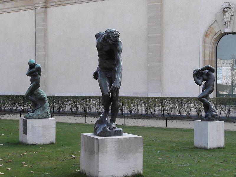 file statues of rodin jardin des tuileries paris wikimedia commons. Black Bedroom Furniture Sets. Home Design Ideas