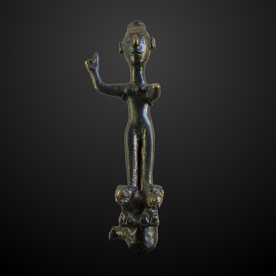 statuette of a goddess