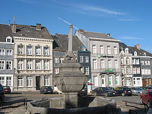 Remaclus - St. Remacle Square, in Stavelot