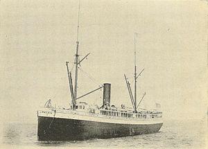 SS Oregon (1878) - Image: Steamer Oregon 1900