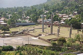 Tigray Region - Axum stele.
