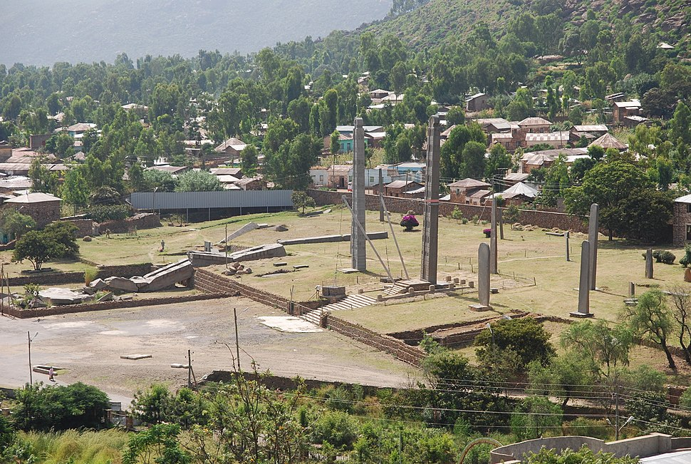 Stelenpark in Axum 2010