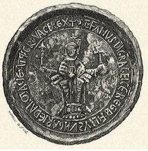 Stephen III of Hungary - Stephen III's seal