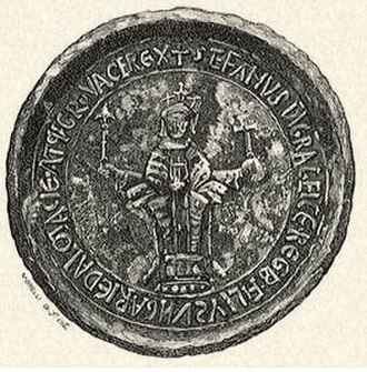 Stephen III of Hungary - Stephen III's seal