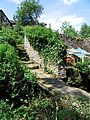 Steps up to Upper Steps Mill, Magdale - geograph.org.uk - 868154.jpg