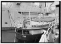 Stern elevation, starboard side. - U.S. Coast Guard Cutter FIR, Puget Sound Area, Seattle, King County, WA HAER WA-167-11.tif