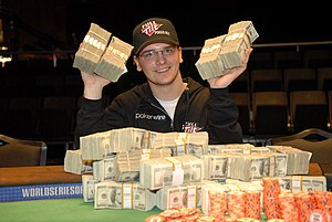 Steve Billirakis - Billirakis after his win at the 2007 World Series of Poker.