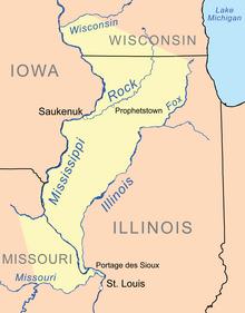 Treaty Of St Louis 1804 Wikipedia - Map-of-us-in-1804
