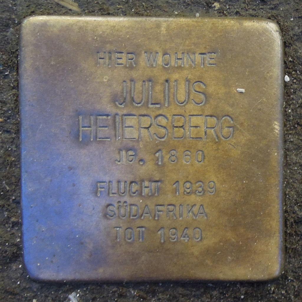 Stolperstein für Julius Heiersberg