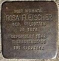 Stolperstein Göppingen, Rosa Fleischer.jpg