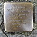 Stolperstein Herford Gehrenberg 17 Regina Spanier.JPG