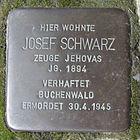 Stolperstein für Josef Schwarz