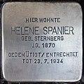 Stolperstein Kalkar Monrestraße 22 Helene Spanier.jpg