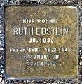 Stolperstein Weichselstr 28 (Neuk) Ruth Ebstein.jpg