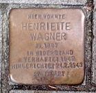 Stolperstein in Mannheim, Heinrich Lanz Str.jpg