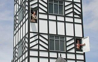 """Stratford, New Zealand - Stratford clock tower """"glockenspiel"""""""