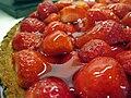 Strawberry tart closeup, October 2008.jpg