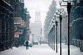 Street in Gyumri city, Armenia - Փողոց Գյումրի քաղաքում, Հայաստան.jpg