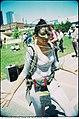Street performer in Toronto in 1979 (13625835373).jpg